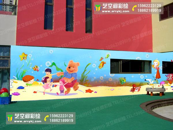 浙江吴江幼儿园喷绘
